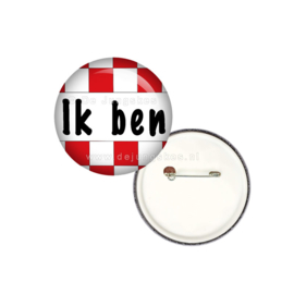 Ik ben Brabander button 25 mm