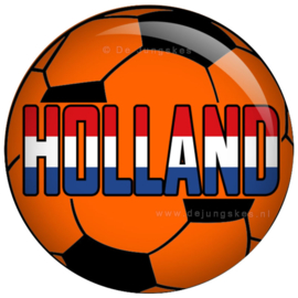 Voetbal Holland button 45 mm