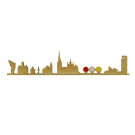 Skyline Den Bosch Goud (25x6 cm)