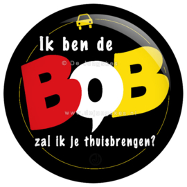 Ik ben de BOB button 45 mm