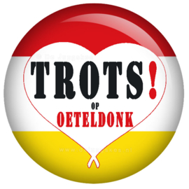 Trots op Oeteldonk button 45 mm