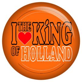 Koningsdag button 45 mm