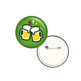 Bier emotie button 25 mm