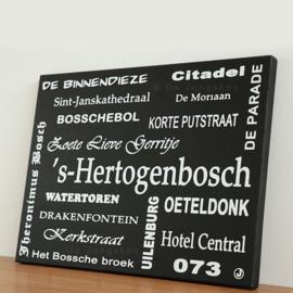 Tekstbord Den Bosch