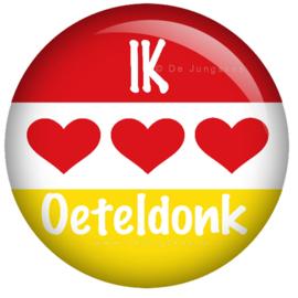 Ik hou van Oeteldonk button 45 mm