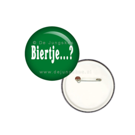 Biertje button 25 mm