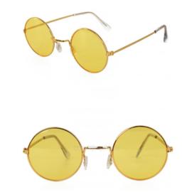 Uilebril geel glas