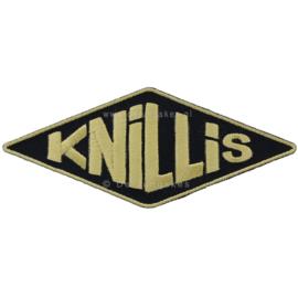 Ruit embleem Knillis (11x4,5 cm)