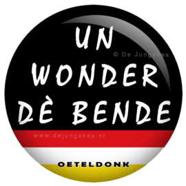 Oeteldonkse tekst button 45 mm