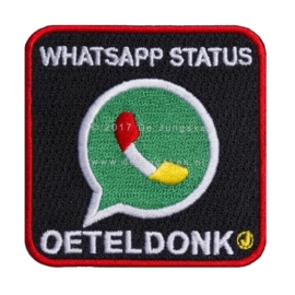 WhatsApp Status (6x6 cm)