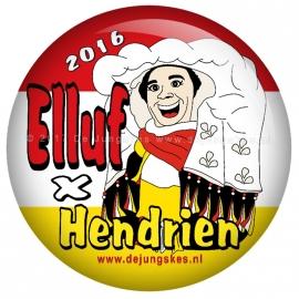 Elluf x Hendrien button 45 mm