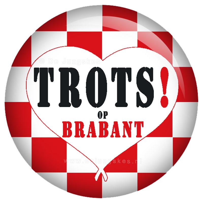 Trots op Brabant button 45 mm