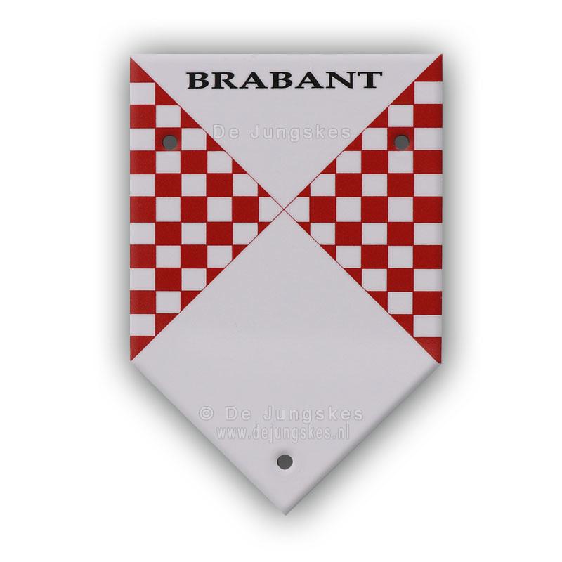 Brabants muurschildje (10x15 cm)