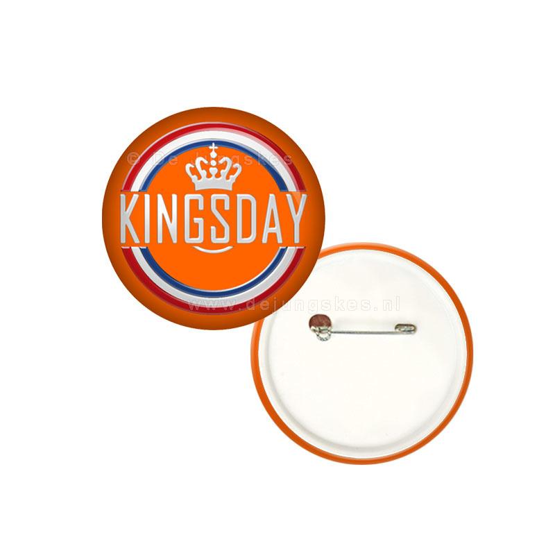 Koningsdag button 25 mm