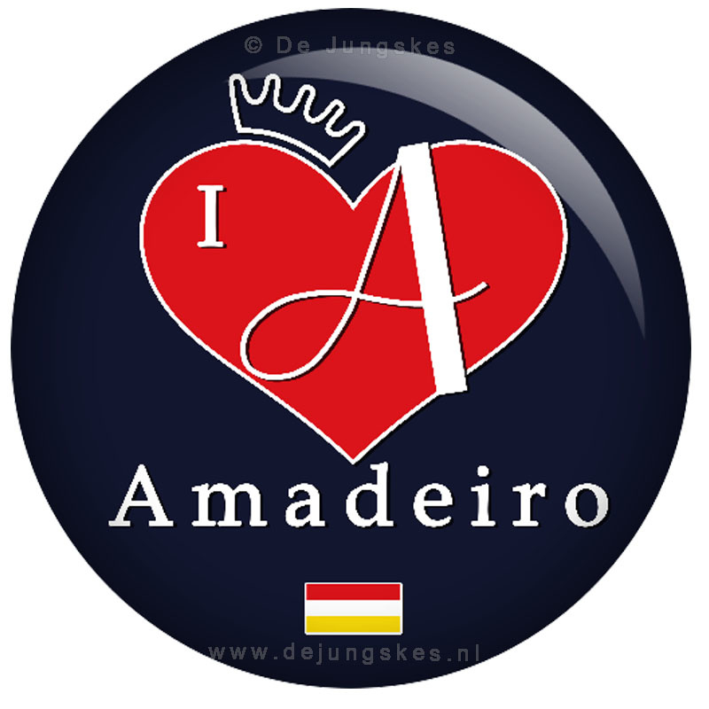 I love Amadeiro button 45 mm