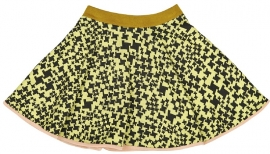 MACARONS  I  SOPHIE SKIRT lime-black