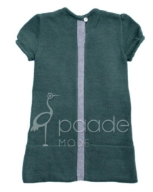 PAADE  I  WOOL KNIT MINI DRESS green