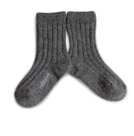 COLLEGIEN  I  SOCKS CANARD  wool-cashmere mix