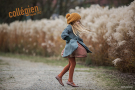 COLLEGIEN  I  TIGHTS PAIN D'EPICE  orange brown