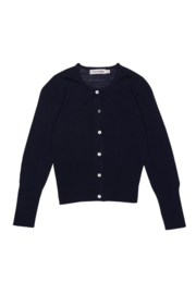 CHRISTINA ROHDE  I  NO. 401 WOOL CARDIGAN  navy