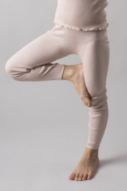 MINIMALISMA  I  BIEBER LEGGINGS silk-cotton
