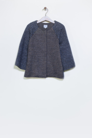 HILDA.HENRI  I  JACKET LILU  grey/gold