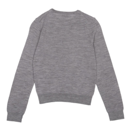 CHRISTINA ROHDE  I  NO. 421 TOP  grey wool