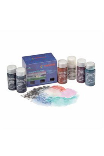 STOCKMAR  I  WATERCOLOURS PAINT ADDITIONAL  6 colours