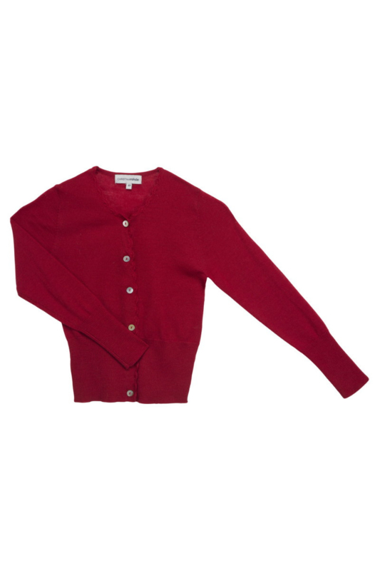 CHRISTINA ROHDE  I  NO. 24 CARDIGAN  red