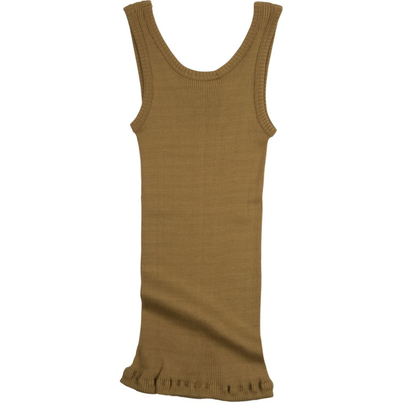 MINIMALISMA  BILLUND  TANK TOP  silk-cotton