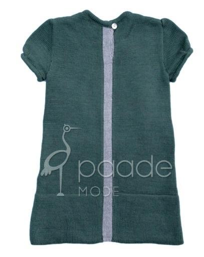 PAADE  I  WOOL KNIT MINI DRESS green