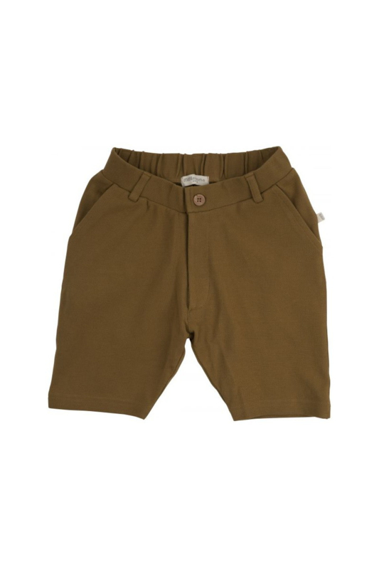 MINIMALISMA  JUNI LONG SHORTS  nutmeg