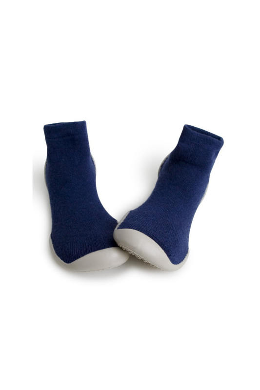 COLLEGIEN  I  VLADIMIR NIGHTBLUE CASHMERE  slipper socks