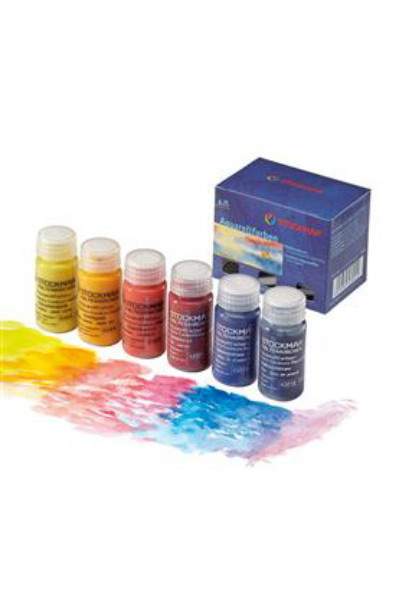 STOCKMAR  I  WATERCOLOURS PAINT WALDORF  6 colours