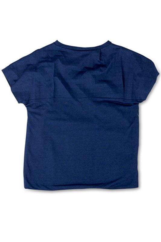 INE DE HAES  I  FO CRACKLE SHIRT  indigo blue