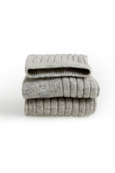 COLLEGIEN  I  SOCKS GRIS CLAIR  wool-cashmere mix