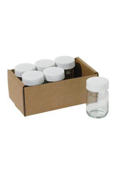 WOODEN HOLDER WITH 6 JARS