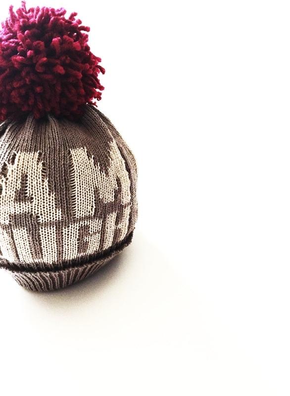 PRJONA PLYM  I  I AM ENOUGH  knit hat
