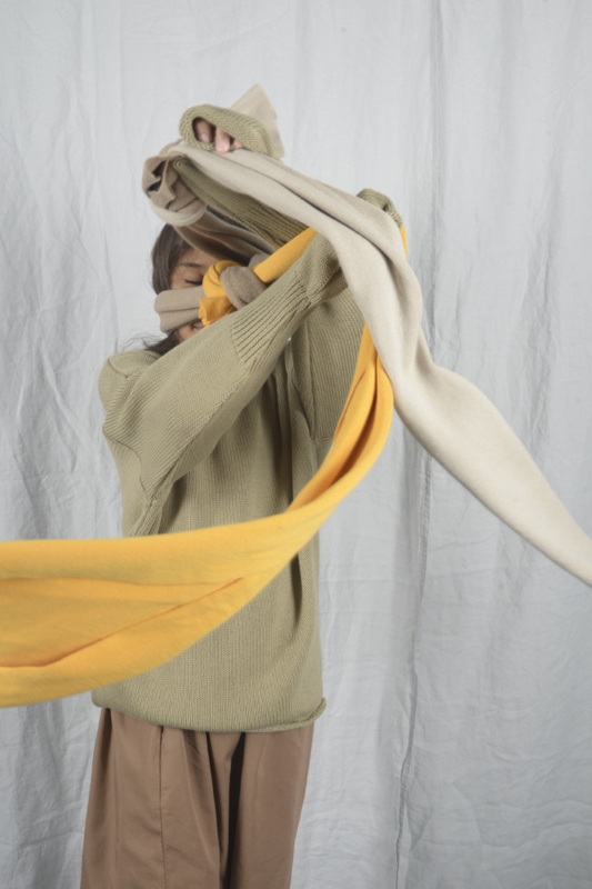 THE BIBIO PROJECT  I  SCARF  choose colour