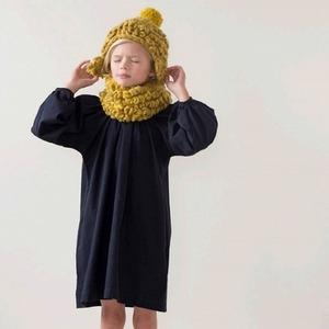 LUISA ET LA LUNA  I  LOOPY HAT  mustard/pampas