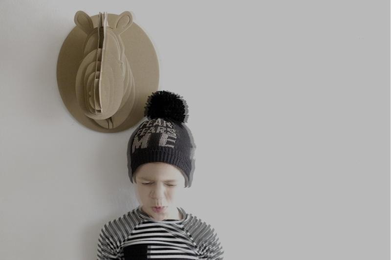 PRJONA PLYM  I  FEAR FEARS ME  knit hat