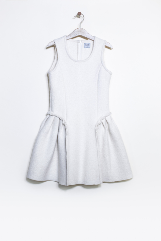 HILDA.HENRI  I  DRESS NORA  winter white