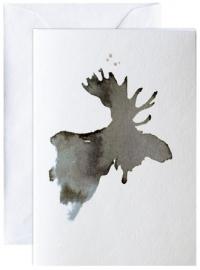 Elg, kunstkaart Elise Stalder