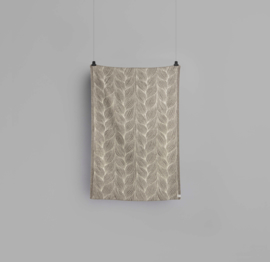 Røros Tweed, deken Naturpledd Flette