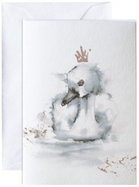 Den stygge andungen, kunstkaart Elise Stalder