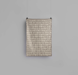 Røros Tweed, deken Naturpledd Knytte