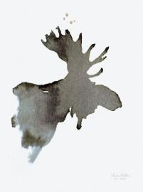 Eland, kunstdruk Elise Stalder