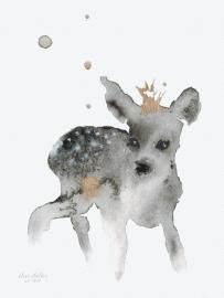 Ree, kunstdruk Elise Stalder