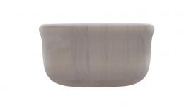 schaal Bowling bowl, medium, grijs