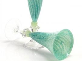 Strandgrønn, glas Knapstad
